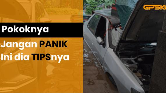 5 Pertolongan Pertama Kendaraan Terendam Banjir