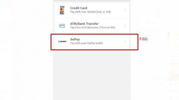 begini cara bayar aplikasi gpsku dengan gopay