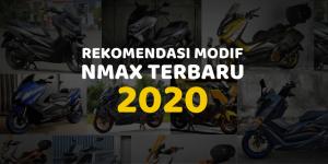Modifikasi Motor Yamaha NMAX 2020 Simpel Elegan