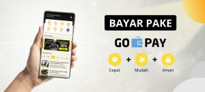 bayar aplikasi gpsku dengan gopay