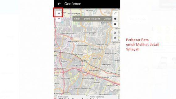 cara pakai geofance 3 aplikasi gpsku