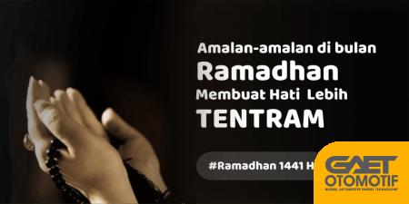 Amalan-amalan yang di anjurkan di bulan ramadhan