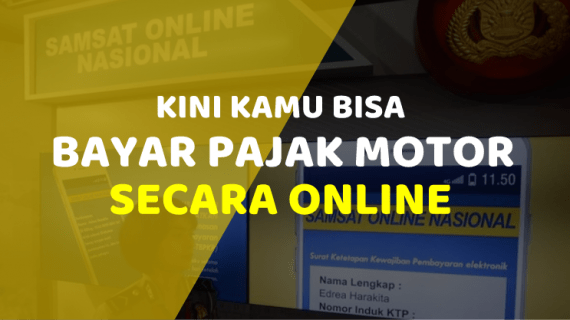Kini Bayar Pajak Motor Bisa Online