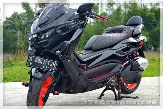 Modifikasi Motor Yamaha Nmax 2020 Simpel Elegan Gaet Co Id
