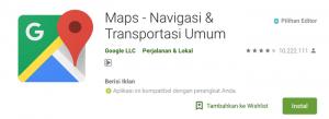 Cara Agar Google Maps Tidak Melewati Tol