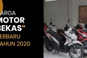 Daftar Harga Motor Bekas Terbaru 2020