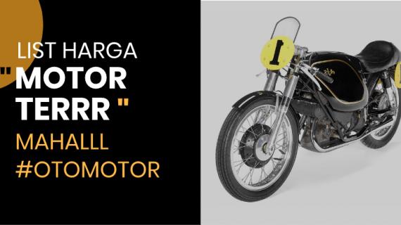 List harga motor paling mahal