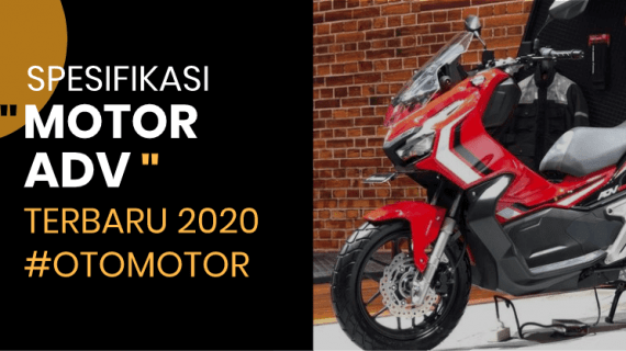 Spek Motor Honda ADV 2020