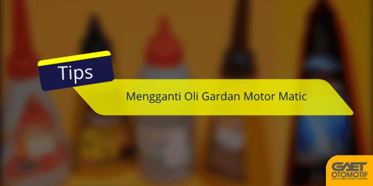 Tips Mengganti oli gardan motor matic