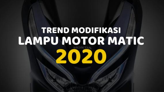Trend Modif lampu motor matic honda