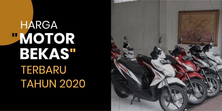 Daftar Harga Motor Suzuki Second - Bekas Terbaru