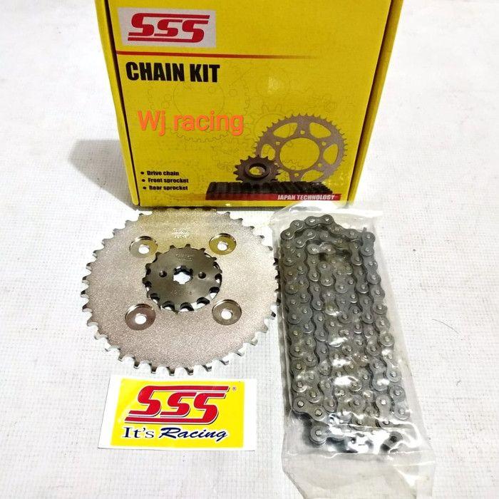 Gear set SSS untuk Motor Honda
