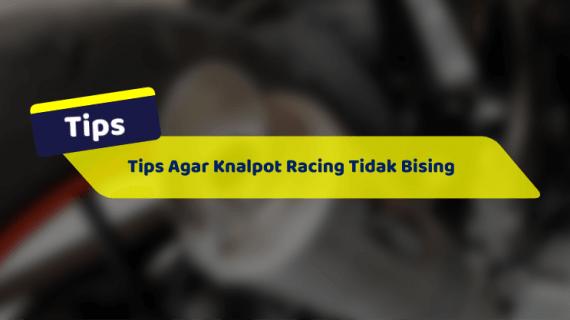 Tips Agar Knalpot Racing Tidak Bising Dengan DB Killer