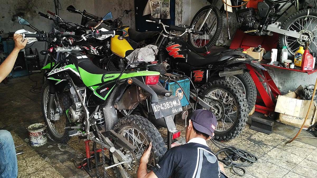 cara bore up kawasaki klx 150