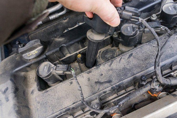 cara mengatasi coil mobil cepat panas