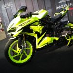 Tips Modifikasi Yamaha R25 Warna Hijau Stabilo Keren