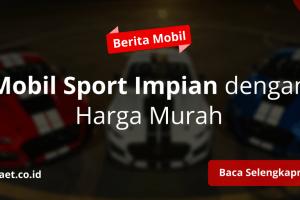 10 Mobil Sport Murah Untuk Anak Muda Terbaik 2020