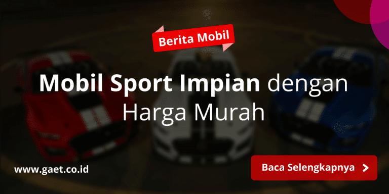 mobil sport murah