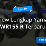 Review Yamaha WR155 R 2020