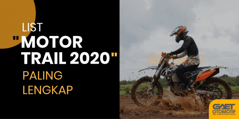 Motor trail terbaru 2020