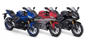 Warna Yamaha NEW R25 Facelif