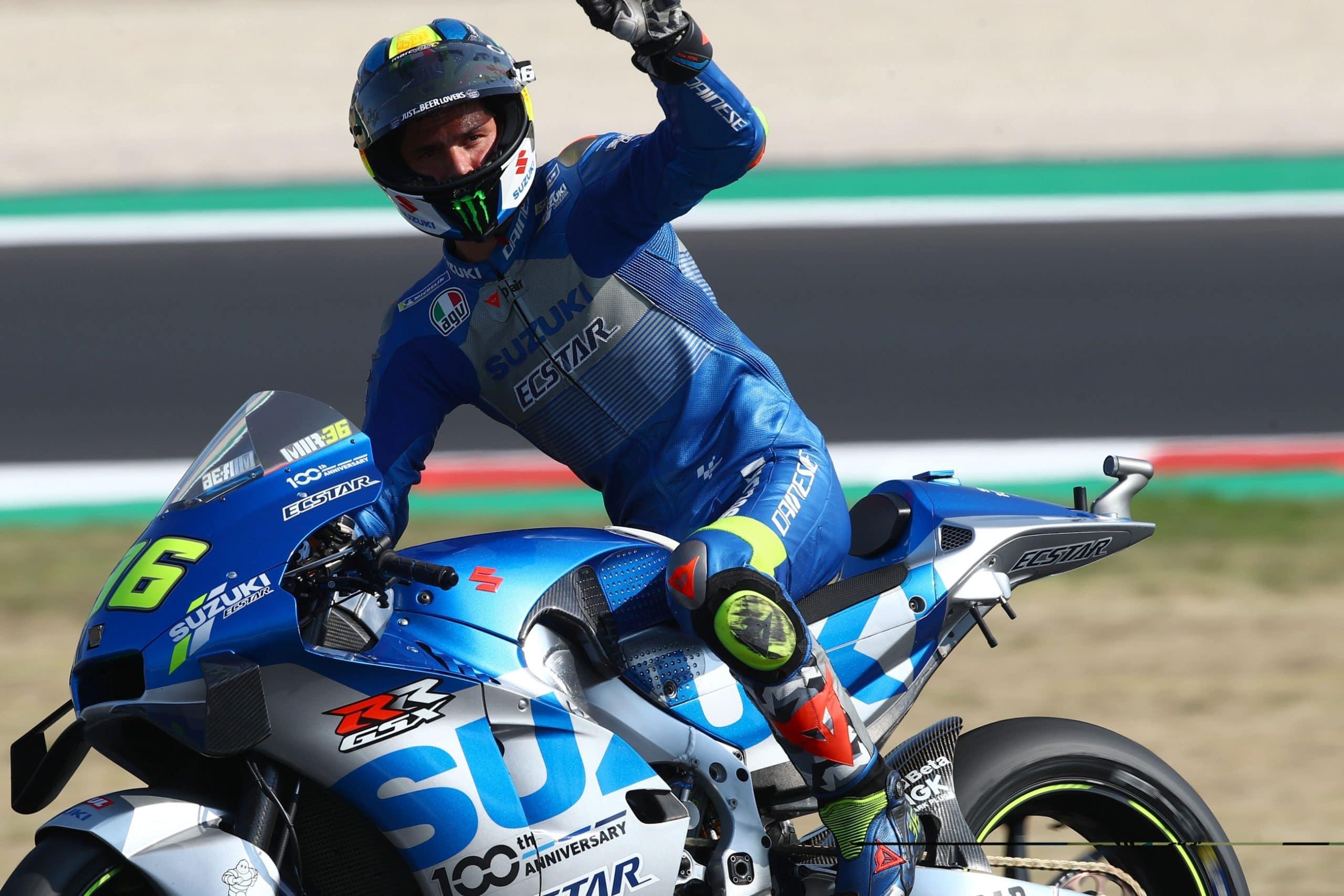 Joan Mir , Emilia Romagna MotoGP. 18 September 2020