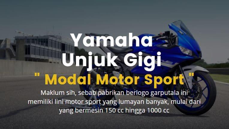 Yamaha Semakin Unjuk Gigi dengan Motor Sportnya Mulai 150cc hingga 1000cc