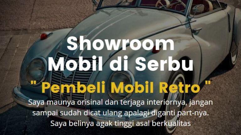 showroom mobil retro diserbu pembeli mobil di masa pendemi
