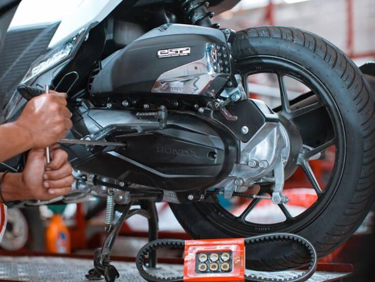 Perawatan Motor Matic Injeksi Honda