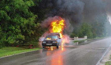 benda berbahaya bisa menyebabkan mobil terbakar