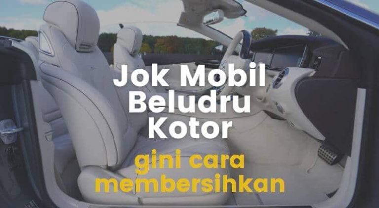 cara membersihkan jok mobil beludru