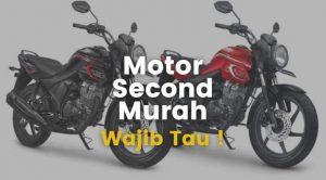 cari motor second murah
