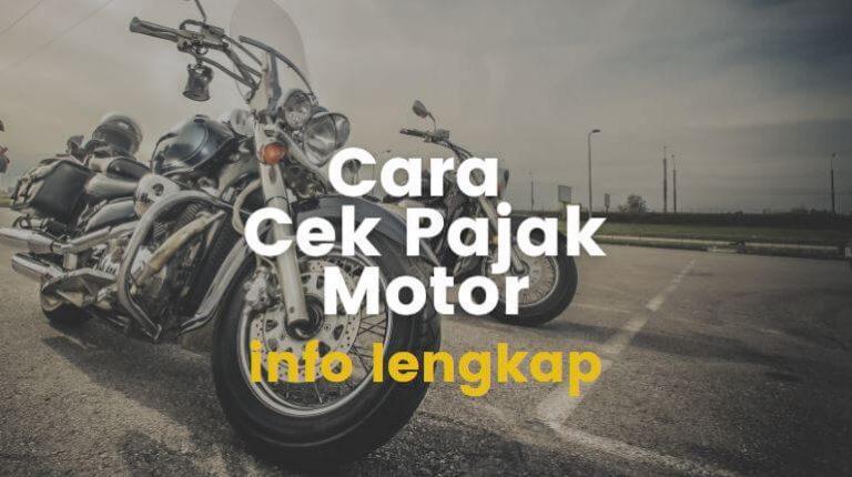 cek pajak motor